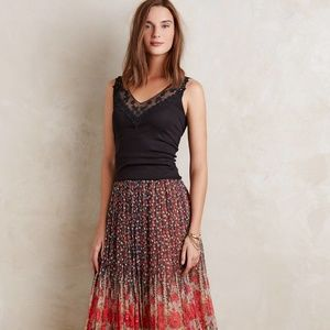 Anthropologie Eloise Lace Layering Tank XS